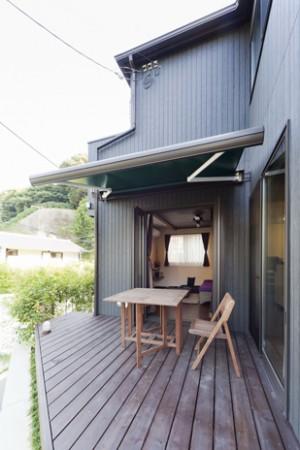 バリ風リゾートの家