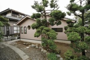 木をふんだんに使った和風建築の家