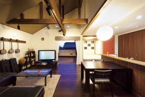 沖縄風リゾートの家