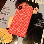 シュプリーム iphone x/8ケース ルイヴィトン supreme lv Galaxy s9ケース iphone10/Xカバー ジャケット