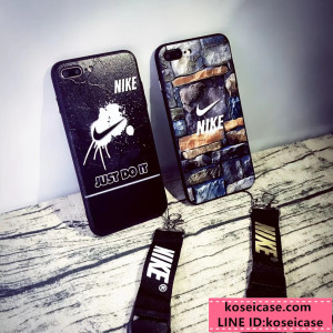 ナイキ NIKE iPhonexs max xr ケース ストラップ付き オシャレ ブランド アイフォン xs max ケース iPh ...