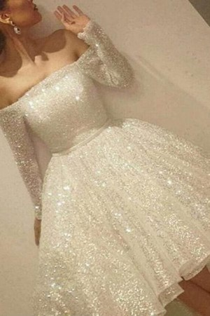 Stunning Beading Off the Shoulder Long Sleeves Prom Dress P686 – Ombreprom