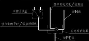 China Emergency Light Manufacturers   -5 Emergency Light Switch Wiring Circuit China Emergency L ...