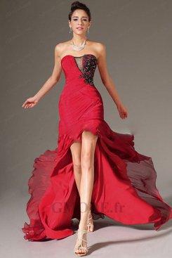 Robe asymétrique pas cher pour mariage moins €100 soldes
