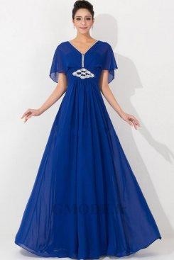 Robe bleu marine pas cher pour mariage moins €100 soldes