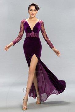 Robe longue pas cher pour mariage moins €100 soldes