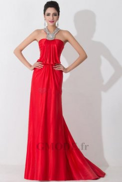 Robe rouge pas cher pour mariage moins €100 soldes