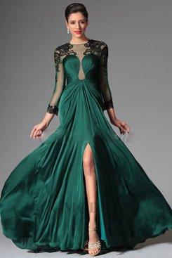Robe verte pas cher pour mariage moins €100 soldes