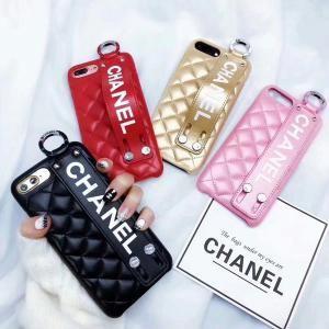 シャネル iphone xr/xs maxケース 女性向け chanel iphone x/xsケース バンド付き