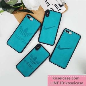 運動風 nike ナイキ アイフォンXS MAX ケース ジャケット 耐衝撃 iphone8/8 plus ケース アディダス ア ...