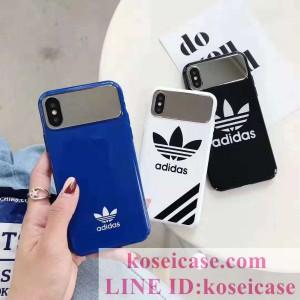 オシャレ アディダス iphoneXS/XR ケース 人気 アイフォンXS MAX/XR ケース iphone8/8 plus ケース メ ...