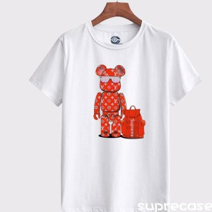 Supreme lvコラボ Tシャツ 半袖 プリント ロゴTシャツ メンズ レディース tシャツ 夏