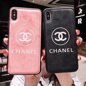 シャネル iphone xrケース オシャレ chanel iphone xs/xs maxケース ペア レザーケース