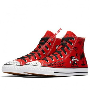 Converse Cons Shoes Chuck Taylor All Star x Sean Pablo Canvas High Top Red