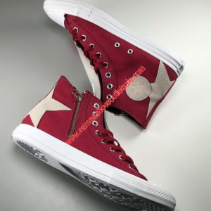 Converse Shoes Chuck Taylor All Star BS Z Canvas High Top Red