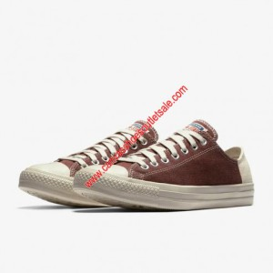 Converse Shoes Chuck Taylor All Star Jute Americana Canvas Low Top Burgundy