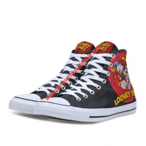Converse Shoes Chuck Taylor All Star Looney Tunes Canvas High Top Black