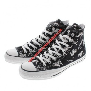 Converse Shoes Chuck Taylor All Star 100th Dinosaur Canvas High Top Black