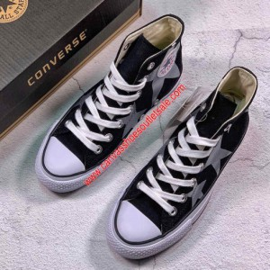 Converse Shoes Chuck Taylor All Star 100th FS HI Canvas High Top Black