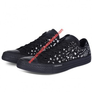 Converse Shoes Chuck Taylor All Star x BT21 Canvas Low Top Black