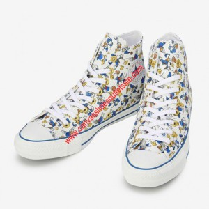 Converse Shoes Chuck Taylor All Star x Disney Donald Duck Canvas High Top White