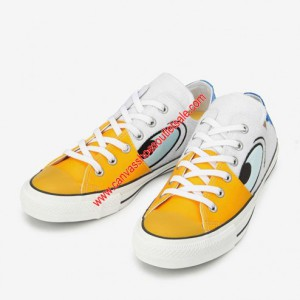 Converse Shoes Chuck Taylor All Star x Disney Donald Duck Canvas Low Top White