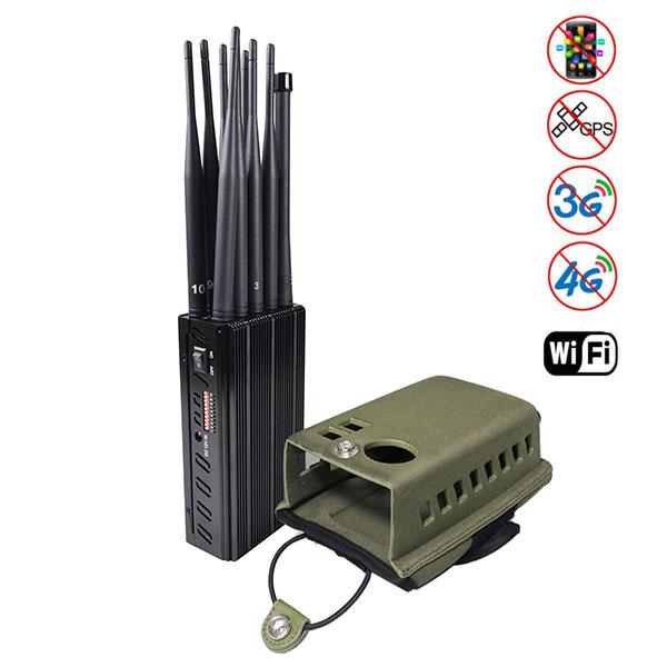 plus tragbarer handy signal storsender Wi-Fi signal blocker jammer