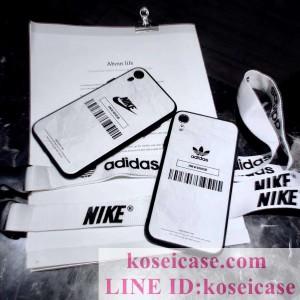 ナイキ nike アイフォン xs max/xr ケース アディダス adidas iphoneXR/X ケース カップル向け オリジ ...