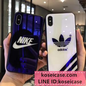 お洒落 ナイキ nike iPhonex ケース iPhonexs/8 plus スマホケース アディダス adidas iPhone10 ケース ...