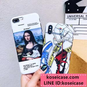 ブランド nike off white iPhonexs/xr ケース 薄型 耐衝撃 ナイキ オフホワイト コボラ アイフォン xs  ...