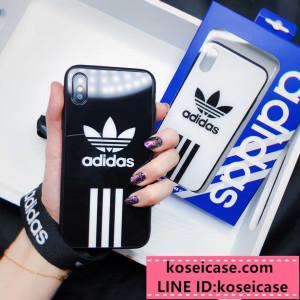 カップル向け アディダス adidas iPhonexs max xr ケース 個性 ブランド galaxy s8/s9+ ケース 大歓迎  ...