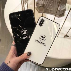 シャネル iphone xs/xs maxケース ブラント chanel アイフォン xr/x/8鏡面ケース セレブ愛用 ペアお揃い