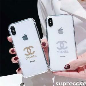 シャネル アイフォンXR/XS MAXケース キラキラ CHANEL iPhoneX/Xsケース 透明ケース