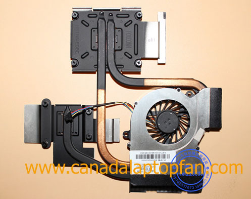 HP Pavilion DV7-6158CA Laptop CPU Fan and Heatsink 650797-001 [HP Pavilion DV7-6158CA Laptop] &# ...