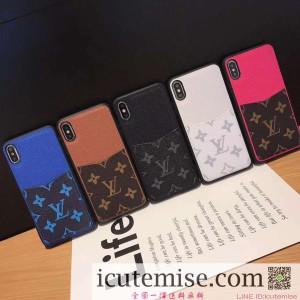 高級 ルイヴィトンLV iPhone XS MAX/XS/XR ケース Iphone XS/XR 革ケース カード入れ アイフォン 6s/7/ ...