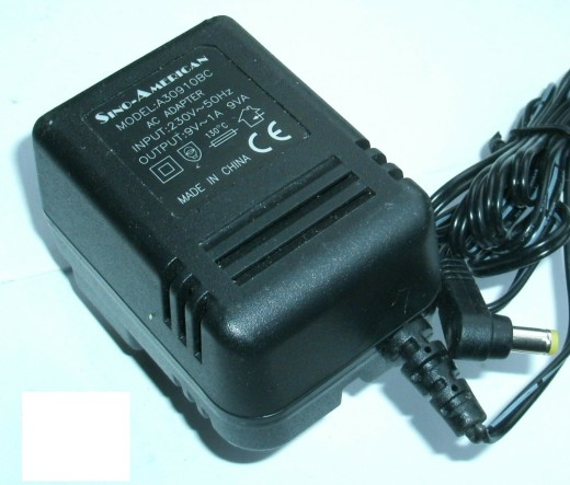 New Sino-American A30910BC 9V 1A 9VA AC Adapter Power Supply http://global-adapters.com/new-sino ...