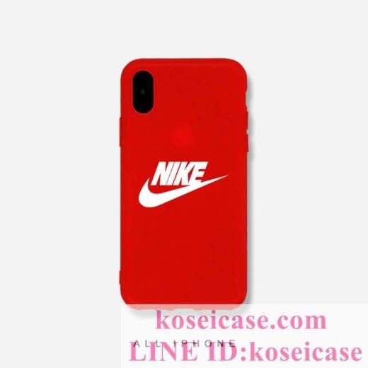 iphone11 pro max/11 pro/11 ケース nike iphoneXS MAX ケース TPU製 ナイキ iphonex/10 ケース シリコ ...