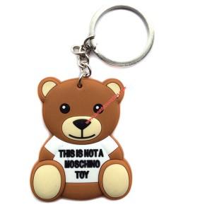 Moschino Teddy Bear Women Key Ring Brown