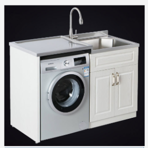 Stainless Steel Laundry Cabinet AF-LC1330R   304 stainless steel sink with Cabinet Water and moi ...
