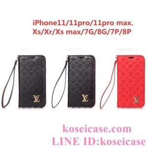 ルイヴィトン iphone11 pro max/11 pro/11 ケース Louis Vuitton iphoneXs max/Xr/Xs ペアケース 手帳 ...