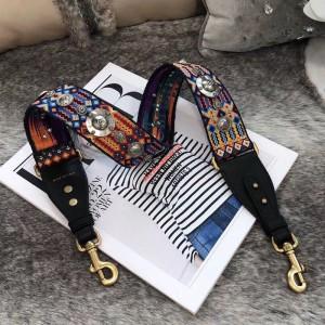 Dior Fiesta Medallions Shoulder Strap Multicolor