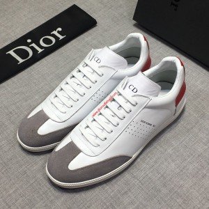 Dior Homme B01 Calfskin Sneaker White/Red