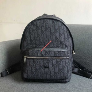 Dior Oblique Backpack Black