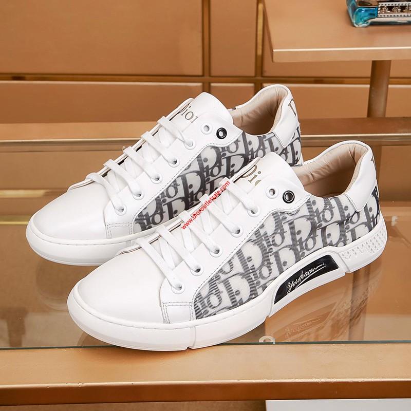 Dior Oblique Luminous Running Sneaker White