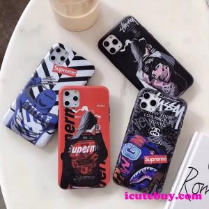 ステューシー シュプリーム iPhone11Pro/xsケース ストリート系の定番 男女ファッション icutebuy.com通販