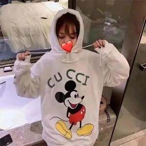 Gucci mickey パーカー 裏起毛ブランド トレーナーレディース 韓国風  https://www.supkaba.com/gucci- ...