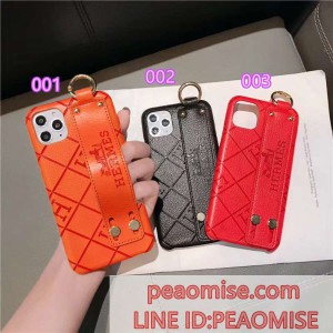 エルメス iphone11 pro max/XS MAX ケース HERMES iphoneXS/XR ケースリング付き 薄い 押し型 アイフォ ...