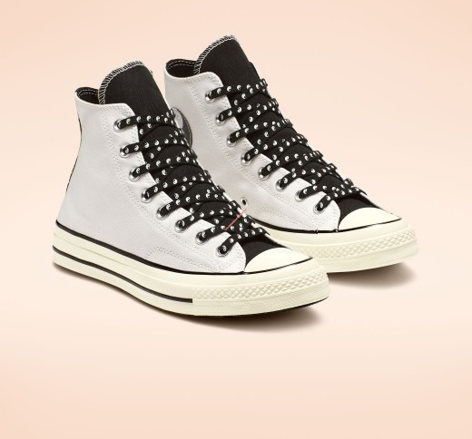 Converse Shoes Chuck 70 Psy-Kicks Canvas High Top White