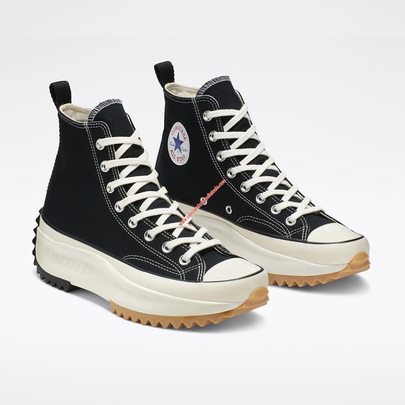 Converse Shoes x JW Anderson Run Star Hike High Top Black