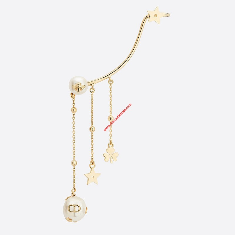 Dior Perles de Desir Earring with Multi-charms Gold